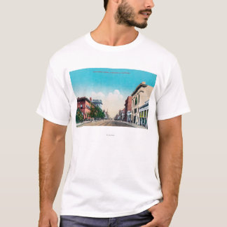View of Nineteenth StreetBakersfield, CA T-Shirt