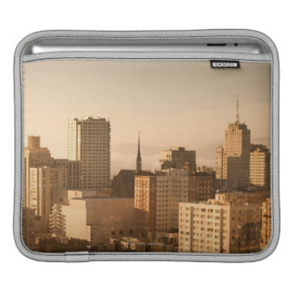 View of Nob Hill in San Francisco, with the fog iPad Sleeve