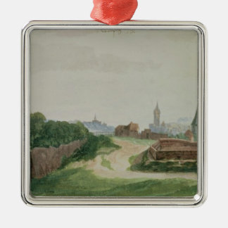 View of Nuremberg, 1496-97 Christmas Ornament