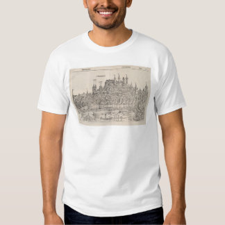View of Nuremberg from Nuremberg Chronicle (1458) T Shirt