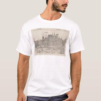 View of Nuremberg from Nuremberg Chronicle (1458) T-Shirt