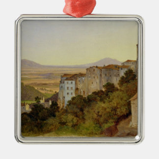 View of Olevano, 1821-24 Christmas Ornament