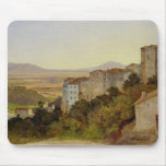 View of Olevano, 1821-24 Mouse Mat