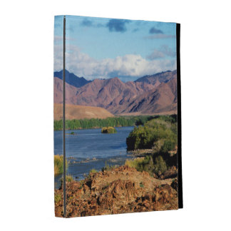 View Of Orange River, Richtersveld Transfrontier iPad Folio Cover