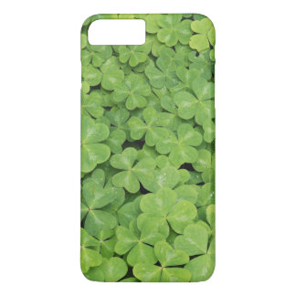 View of Oxalis Oregana wood Sorrel Foliage iPhone 8 Plus/7 Plus Case