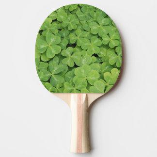 View of Oxalis Oregana wood Sorrel Foliage Ping Pong Paddle
