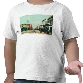 View of Pacific AvenueSanta Cruz, CA Tee Shirt