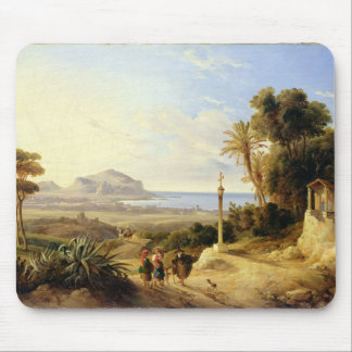 View of Palermo, 1840 Mouse Mat
