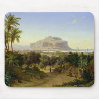 View of Palermo with Mount Pellegrino Mouse Mat