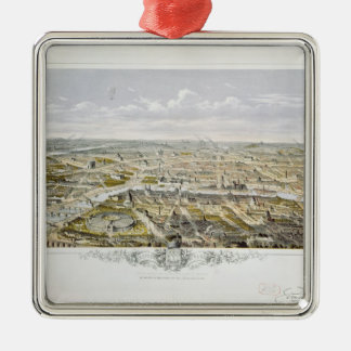 View of Paris from Bois de Boulogne Christmas Ornament