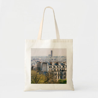 View of Paris From Montmartre Hill Tote Bag