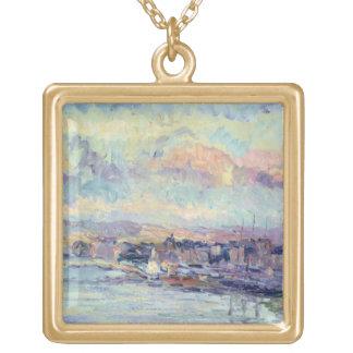 View of Paris (oil on canvas) Custom Jewelry