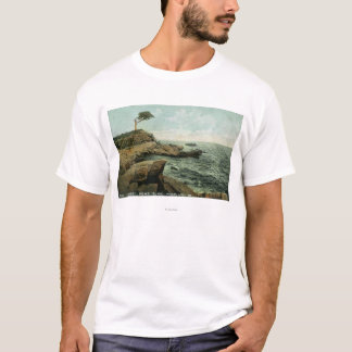 View of Peaks Island and the Pair Tree T-Shirt