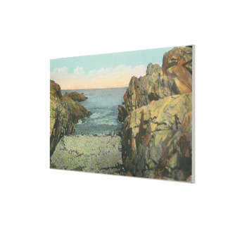 View of Pebble Cove Canvas Print