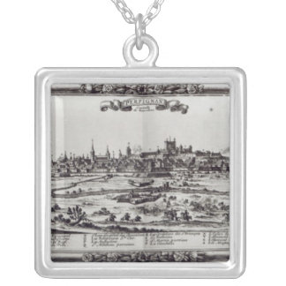View of Perpignan, southern France, c.1645 Silver Plated Necklace