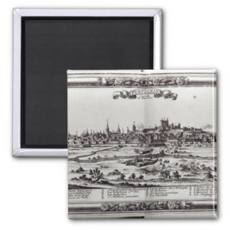 View of Perpignan, southern France, c.1645 Square Magnet
