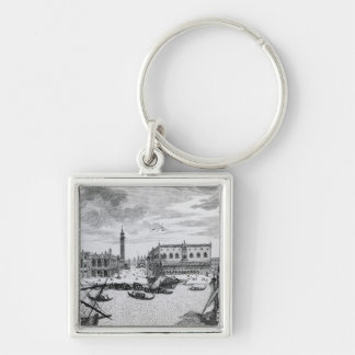 View of Piazza San Marco from the Bacino, Venice Key Ring