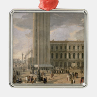 View of Piazza San Marco, Venice, c.1726 Christmas Ornament