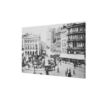 View of Piccadilly Circus, c. 1900 Canvas Print