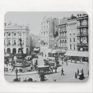 View of Piccadilly Circus, c. 1900 Mouse Mat