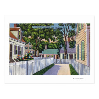 View of Picturesque Residences Postcard