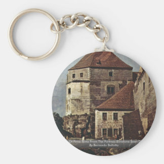 View Of Pirna Pirna From The Fortress Sunstone Key Chains