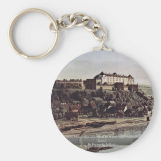 View Of Pirna Pirna From The Vines At Prosta Keychains