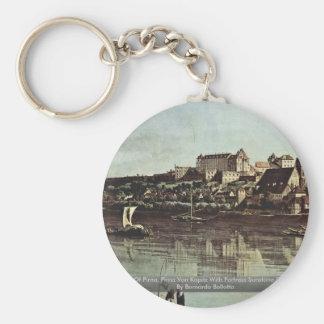 View Of Pirna, Pirna Von Kopitz Keychain