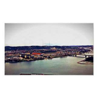 View of Pittsburgh from Incline Poster