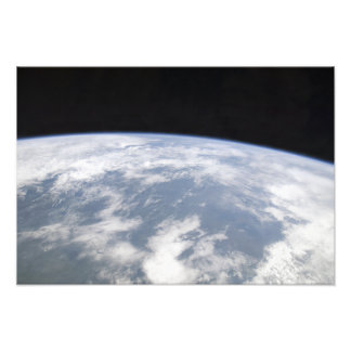 View of planet Earth from space Photographic Print