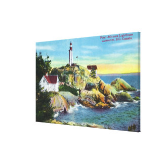View of Point Atkinson Lighthouse 2 Canvas Print