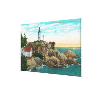 View of Point Atkinson Lighthouse Canvas Print