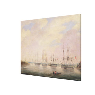 View of Port Adelaide, South Australia Canvas Print
