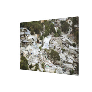 View of Port-au-Prince, Haiti Canvas Print