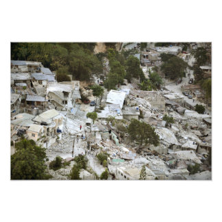 View of Port-au-Prince, Haiti Photo Print