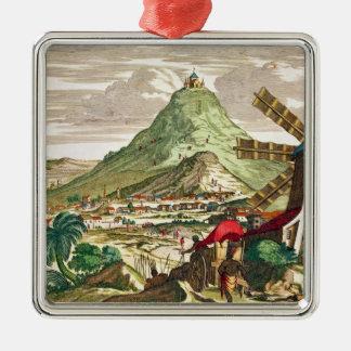 View of Potosi in Bolivia Christmas Ornament