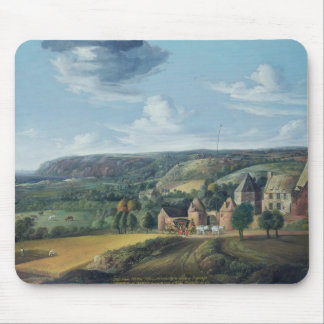 View of Potrel Manor, near Dragey in Normandy Mouse Mat