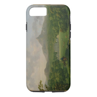 View of Powerscourt, County Wicklow, c.1760-2 (oil iPhone 8/7 Case