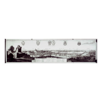 View of Prague, 1649 Poster