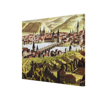 View of Prague Canvas Print