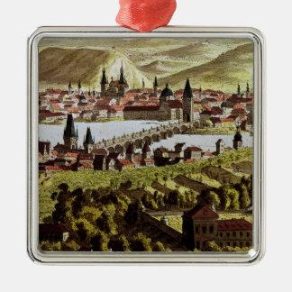 View of Prague Christmas Ornament