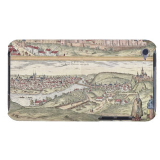 View of Prague showing (above) the Imperial Palace iPod Touch Case-Mate Case