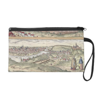 View of Prague showing (above) the Imperial Palace Wristlet Clutches