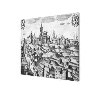 View of Prague showing the Imperial Palace and the Canvas Prints