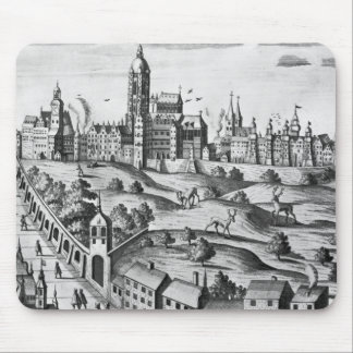 View of Prague showing the Imperial Palace and the Mouse Mat