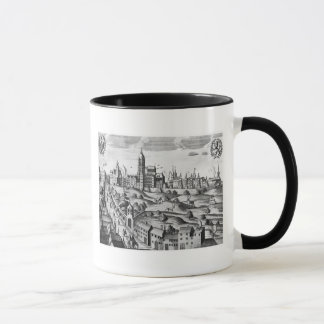 View of Prague showing the Imperial Palace and the Mug