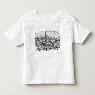View of Prague showing the Imperial Palace and the Toddler T-Shirt