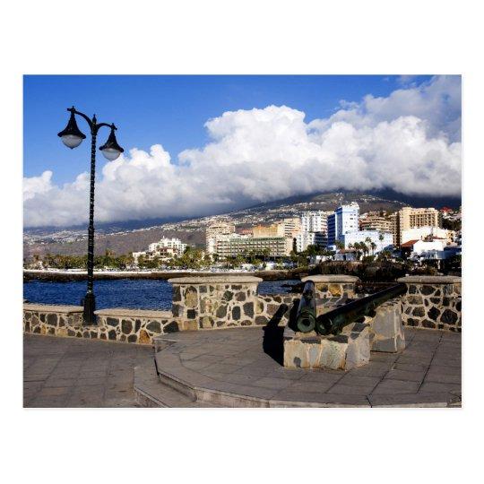 View of Puerto de la Cruz from Plaza de Europa Postcard