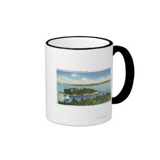 View of Pumkin Knob and Long Island Mug