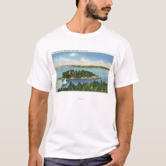 View of Pumkin Knob and Long Island T-Shirt